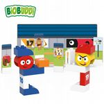 BiOBUDDi - Baseball game - Eco Friendly Block Set - 27 Blocks